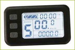 elektrokola - LCD displej