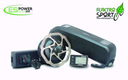 elektrosada pro přestavbu kola na elektrokolo