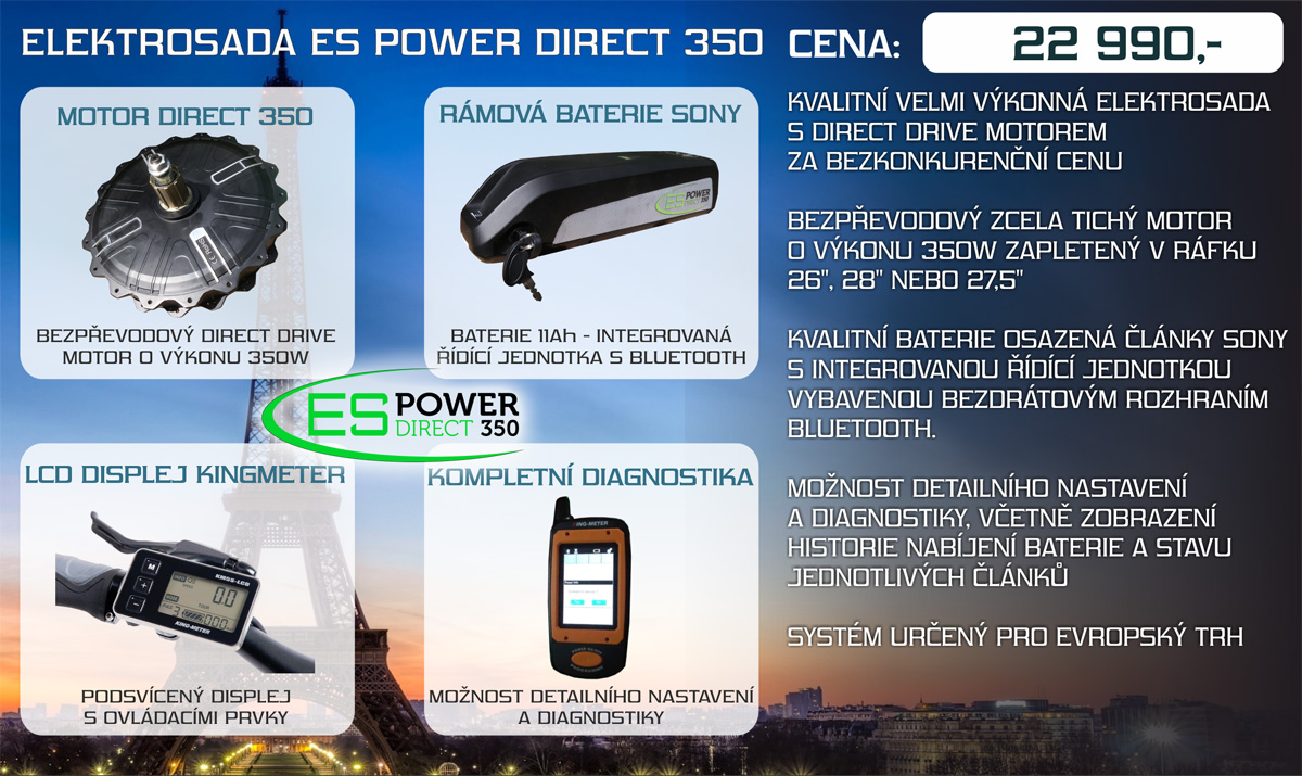 elektrosada es power direct 350