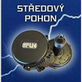 středový pohon pro elektrokolo
