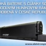 česká baterie pro elektrokolo