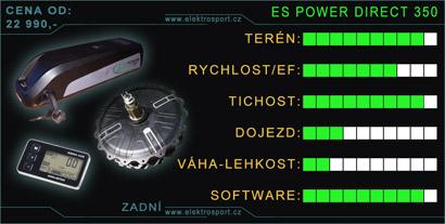 elektrosada pro přestavbu eletkrokola zadní es power 350