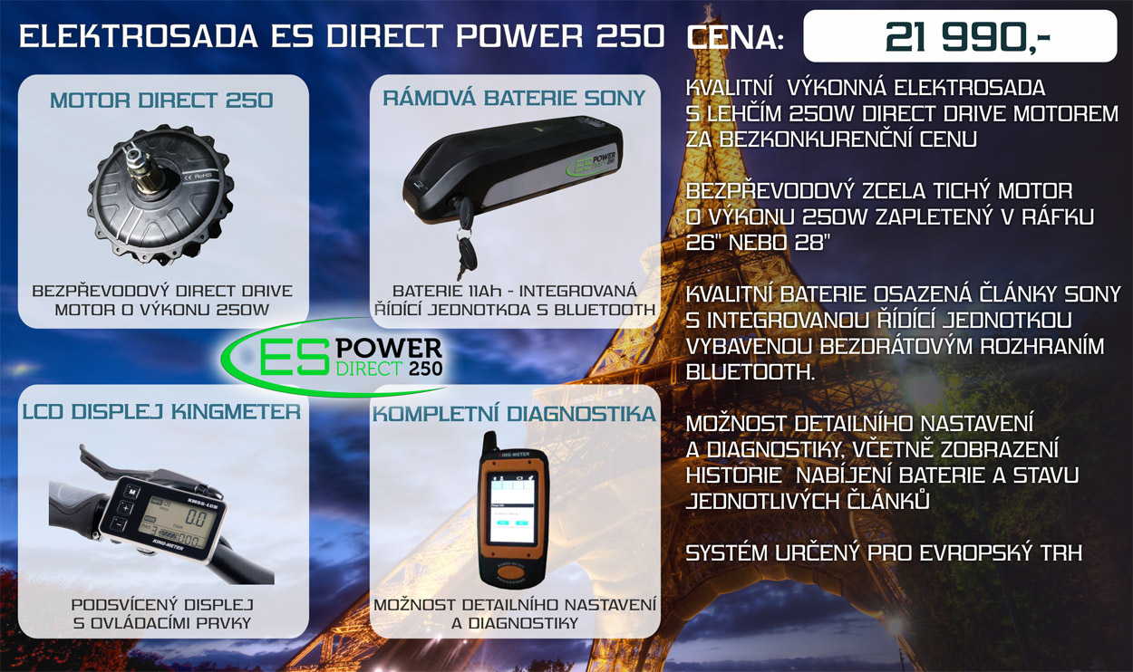 elektrosada es power direct 250