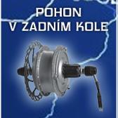 přestavba kola na elektrokolo zadní pohon