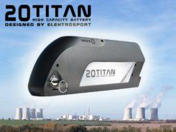 vysokokapacitní baterie pro elektrokola titan 20