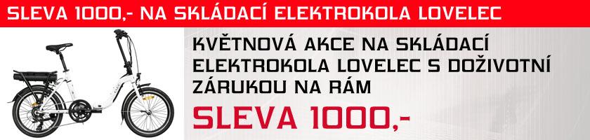 sleva skládací elektrokola