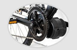 Elektrosady se středovým motorem