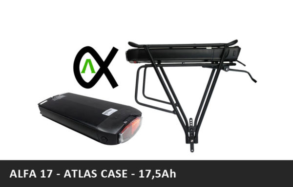 Nosičová baterie ALFA – 17,5Ah