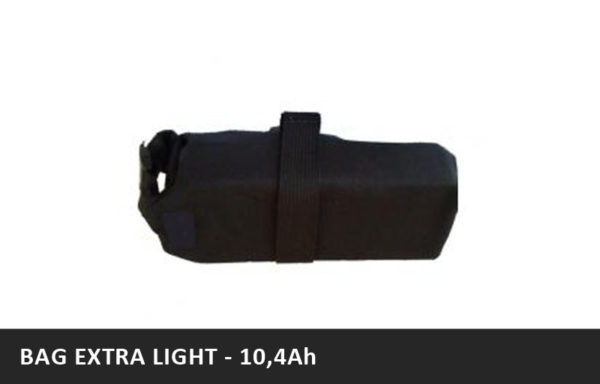 Brašnová baterie BAG EXTRA LIGHT – 10,4Ah