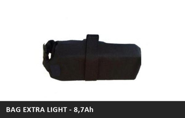 Brašnová baterie BAG EXTRA LIGHT – 8,7Ah