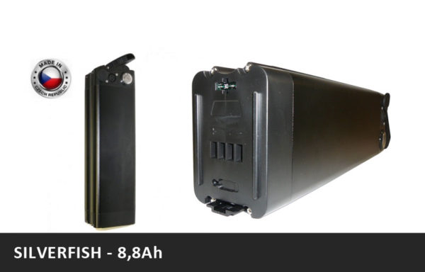 Baterie za sedlovou trubku – Silverfish – 8,8Ah