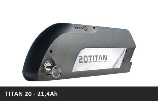 Vysokokapacitní rámová baterie TITAN 20 – 21Ah