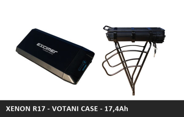 Nosičová baterie XENON R17 – Votani 17,4Ah