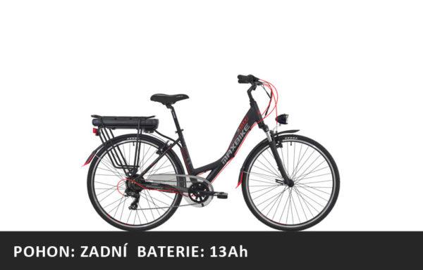 Městské elektrokolo Maxbike E-City 2020 – pláště 28″ – rám 18″ – baterie 13Ah