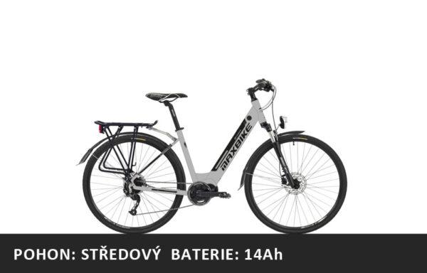 Městské elektrokolo Maxbike Urbea 2020 – pláště 28″ – rám 18″ – baterie 14Ah