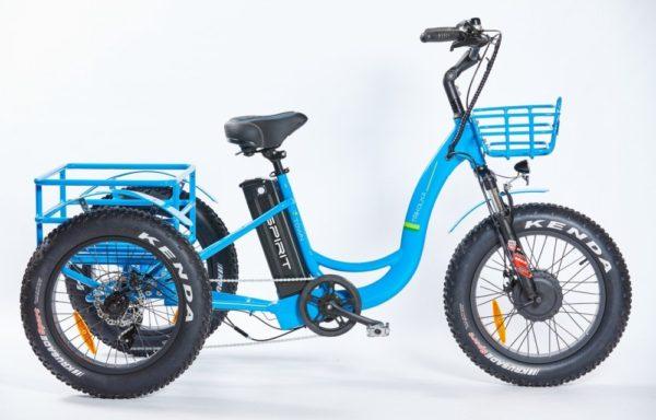 Elektrická tříkolka SHOPPING MAX FATBIKE – terénní odolná – baterie 18Ah