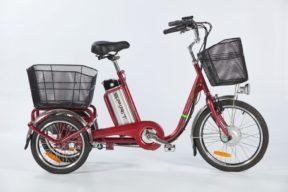 elektrická tříkolka spirit shopping 2 nexus