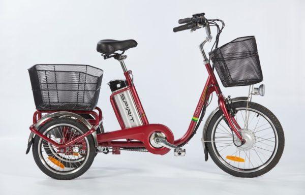 Elektrická tříkolka SHOPPING2 – červená – baterie 20Ah | 18Ah | 13Ah