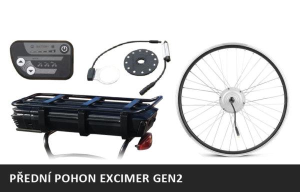 Elektrosada EXCIMER GEN2 – PŘEDNÍ MOTOR – 36V/250W + nosičová baterie 17,4Ah