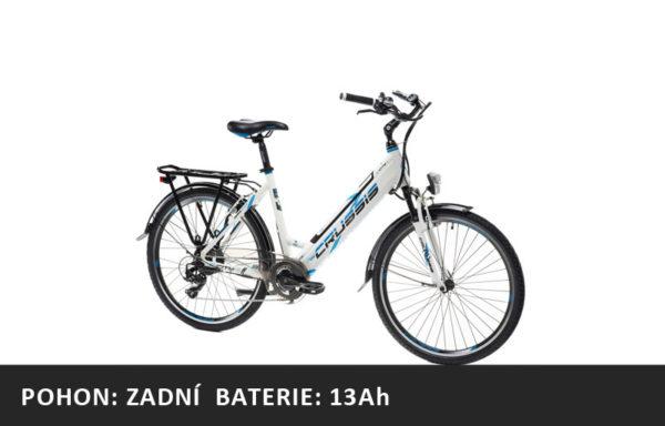 Městské elektrokolo Crussis e-City 1.13 (2021) – rám 17″ nebo 19″ – baterie 13Ah