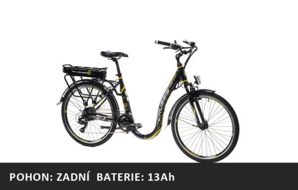 Městské elektrokolo Crussis e-City 2.6 (2021) – rám 18″ – baterie 13Ah