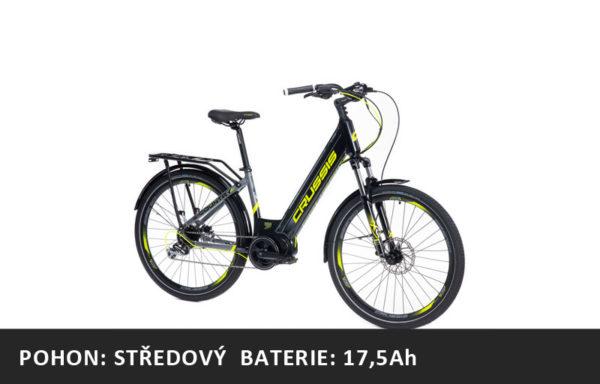 Městské elektrokolo Crussis e-Country 7.6-S (2021) – rám 17″ nebo 19″ – baterie 17,5Ah