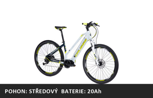 Krosové elektrokolo Crussis e-Cross lady 7.6-M (2021) – rám 17″ nebo 19″ – baterie 20Ah