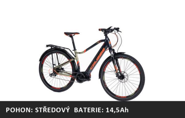 Trekové elektrokolo Crussis e-Gordo 7.6 (2021) – rám 18″ nebo 20″ – baterie 14,5Ah