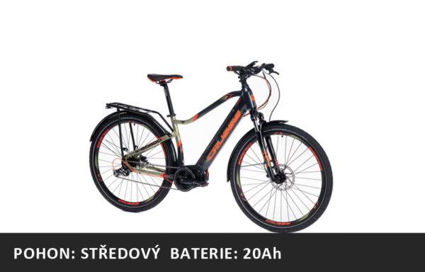 Trekové elektrokolo Crussis e-Gordo 7.6-M (2021) – rám 18″ nebo 20″ – baterie 20Ah