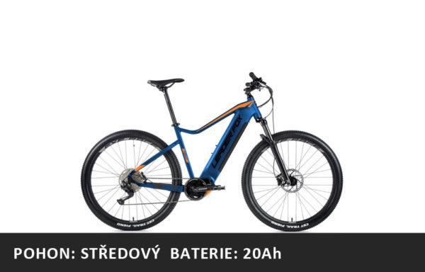 Horské elektrokolo Leader Fox Kent 29″ 2021-2 – tmavě modrá/oranžová – rám 17,5″ | 19,5″ | 21,5″ – baterie 20Ah