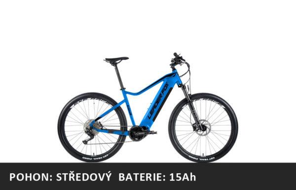 Horské elektrokolo Leader Fox Swan 27,5″ 2021-1 – modrá/černá – rám 16″ | 17,5″ | 19,5″ – baterie 15Ah